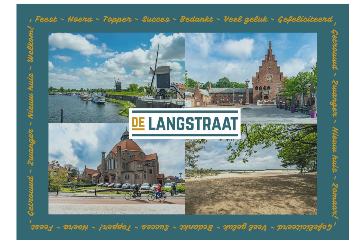 De Langstraat-Wenskaart voorkant-a6